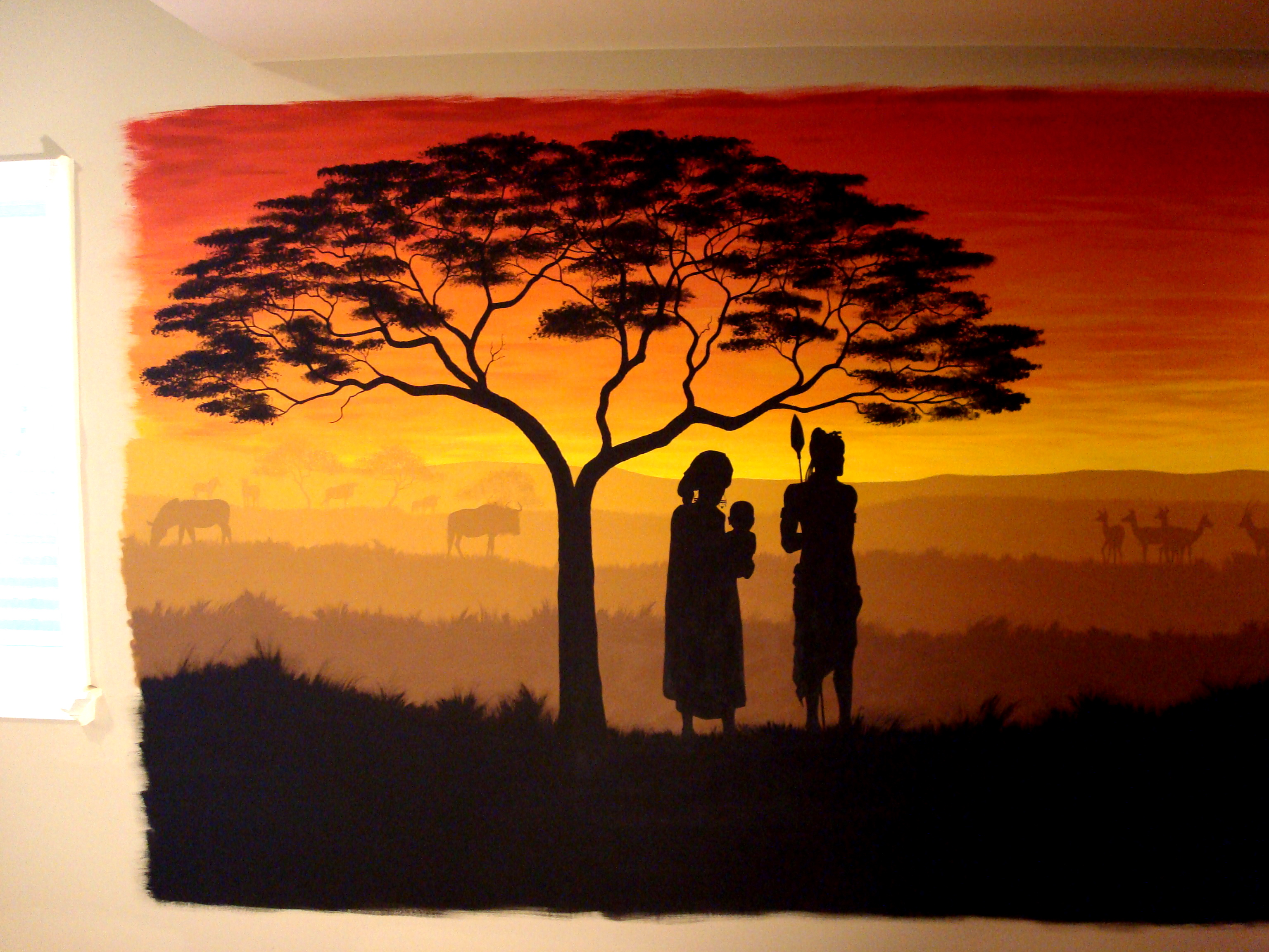african murals mural art and gastronomic tour through