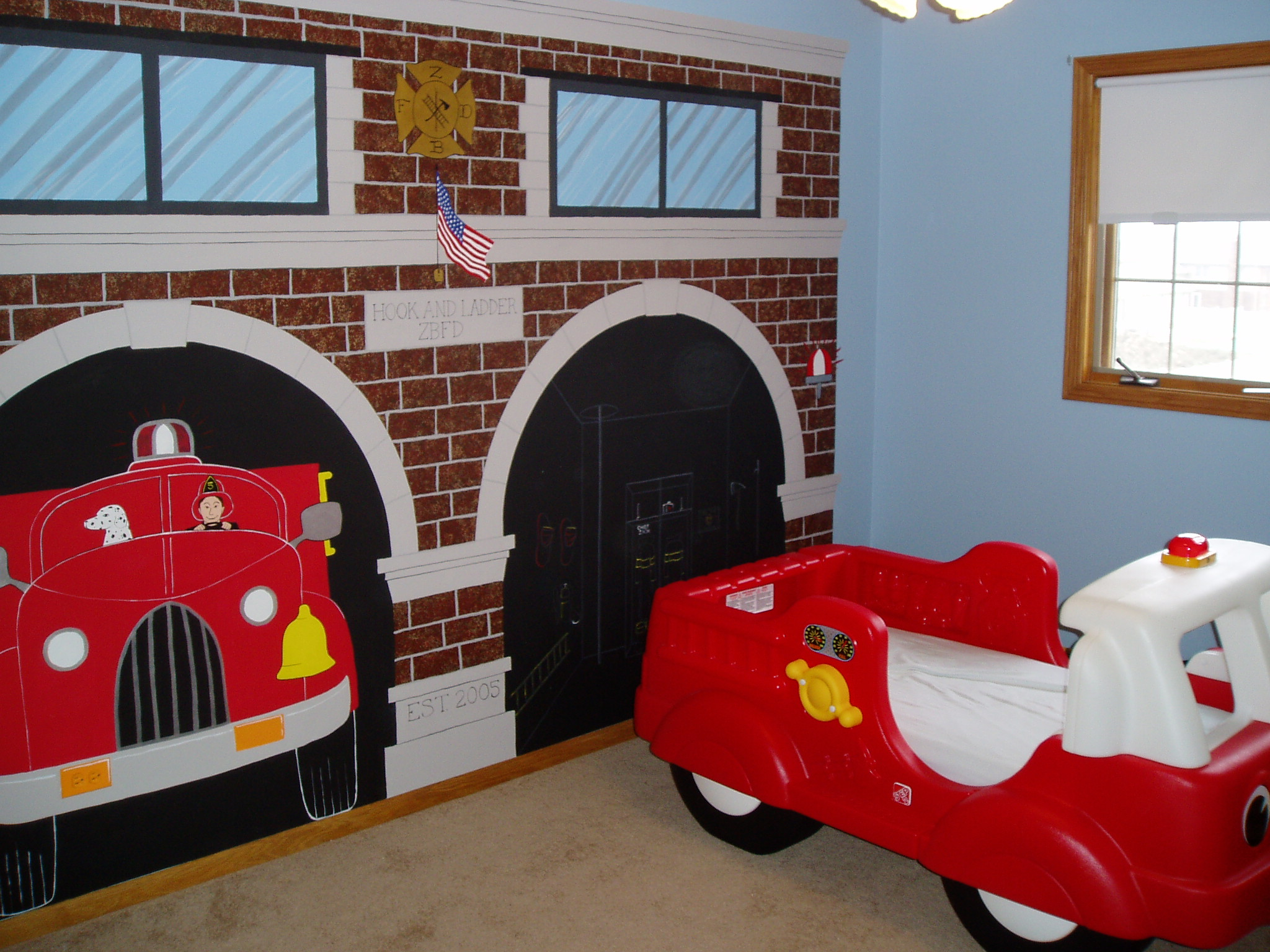 The Firehouse Bedroom